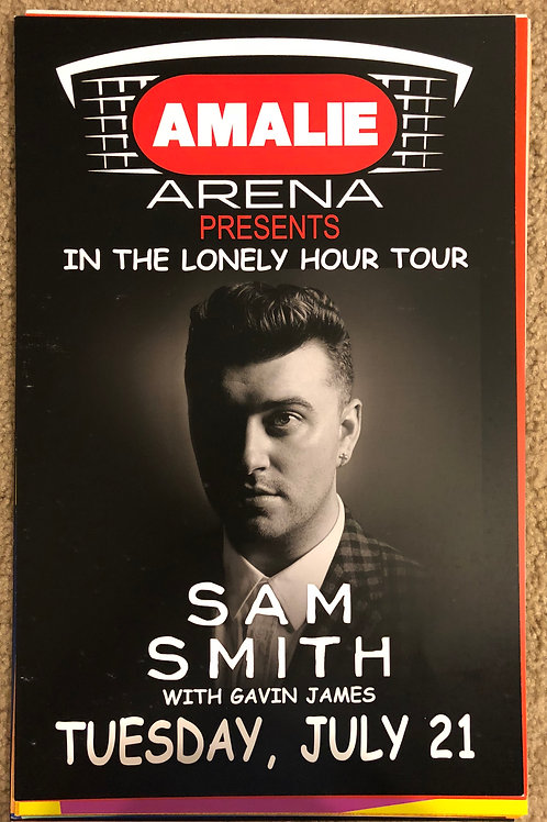Sam Smith In The Lonely Hour Tour (11x17)