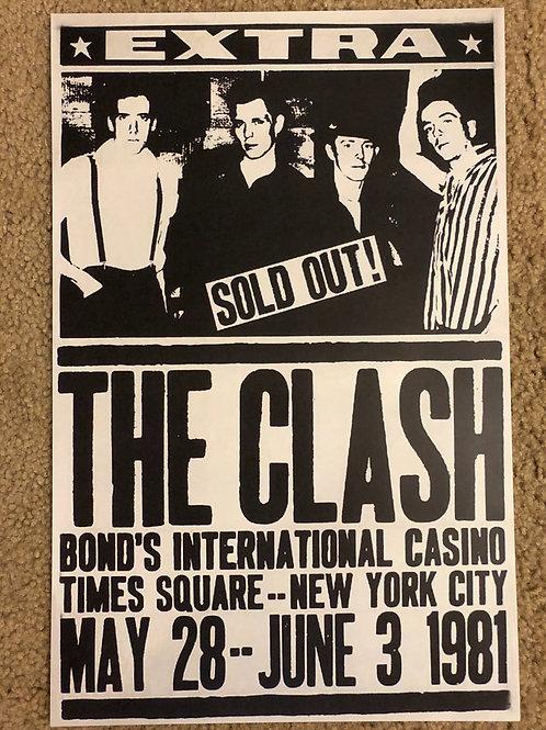 The Clash Bond's International casino (11x17)