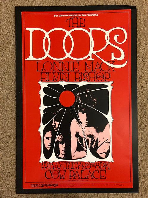 Doors Lonnie Mack Elvin Bishop (11x17)