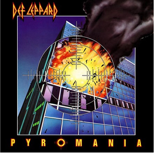 Def Leppard - Pyromania (180 gm colored LP)