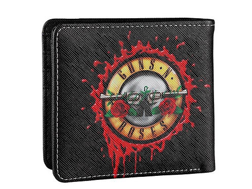 Guns and Roses Splatter Wallet
