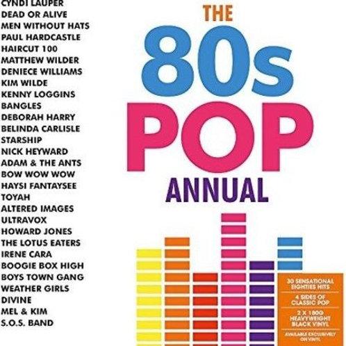 Various Artists- 80's Pop Annual (2 LP Vinyl)