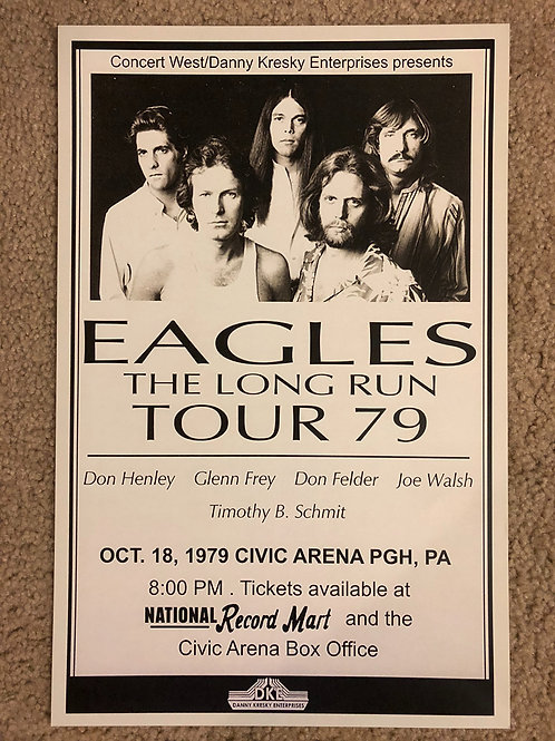 The Eagles Long Run Tour '79 (11x17)