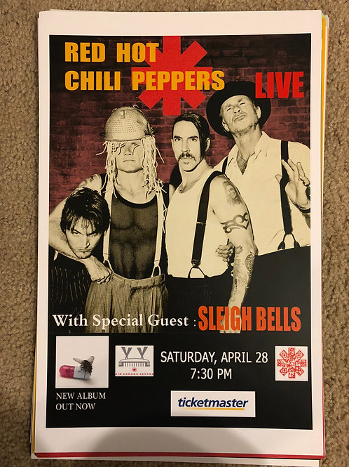 Red Hot Chili Peppers with Sleigh Bells