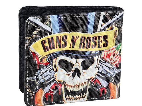 Guns and Roses Skull Wallet