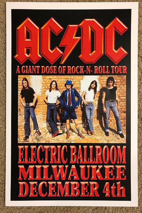 ACDC Electric Ballroom (11x17)