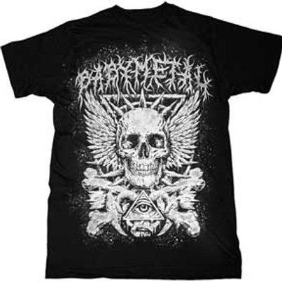 Baby Metal-Cross Bone Eye Skeleton Mens T-Shirt