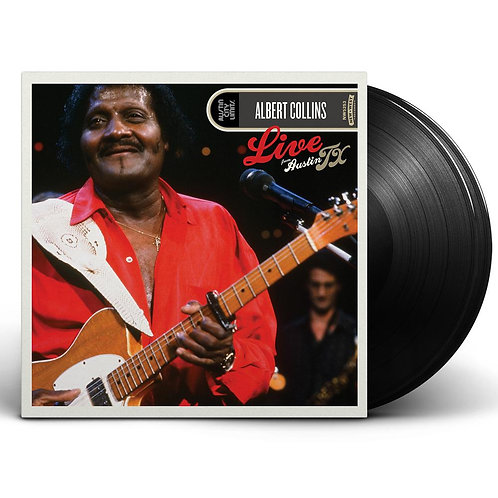 Albert Collins Live From Austin TX (Vinyl LP)