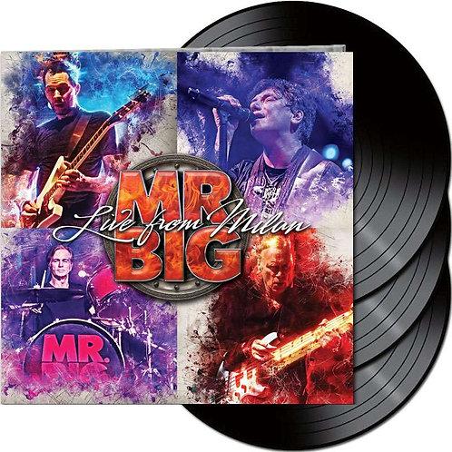 Mr. Big Live in Milan (3 LP Vinyl)