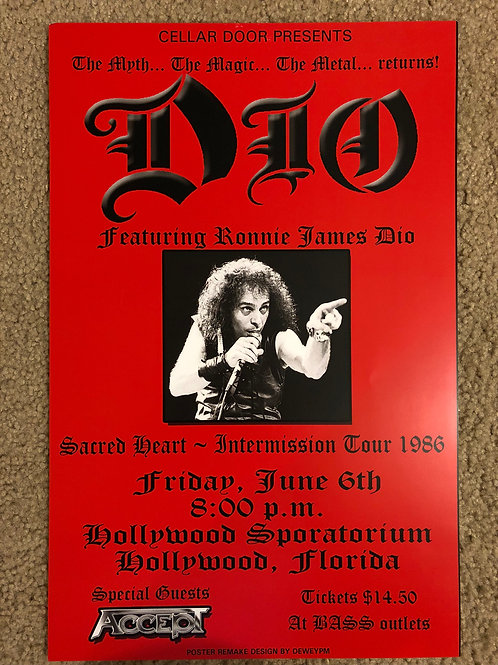 Dio Featuring Dio (11x17)