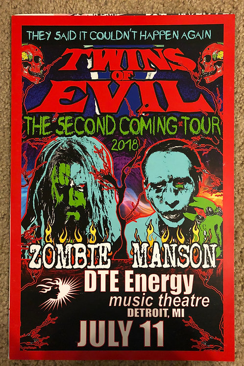 Twins of Evil-Zombie Manson (11x17)