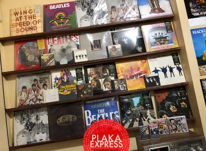 Plaka Express Beatles Wall