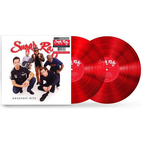 Sugar Ray Greatest Hits FYE Limited Edition Red Vinyl