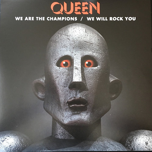 Queen We are the Champions/ We will Rock You (RSD 2018 Limited Edition)