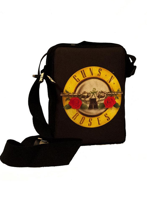 Guns and Roses Logo Cross Body Bag