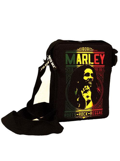 Bob Marley Roots Rock Reggae Cross Body Bag