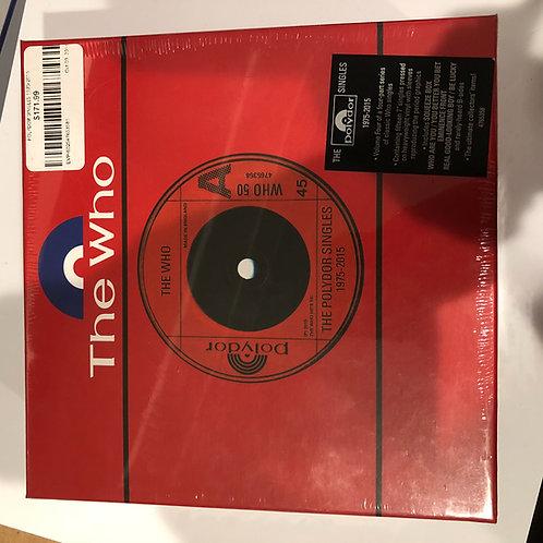 "The Who 7"" Vinyl Box Set"
