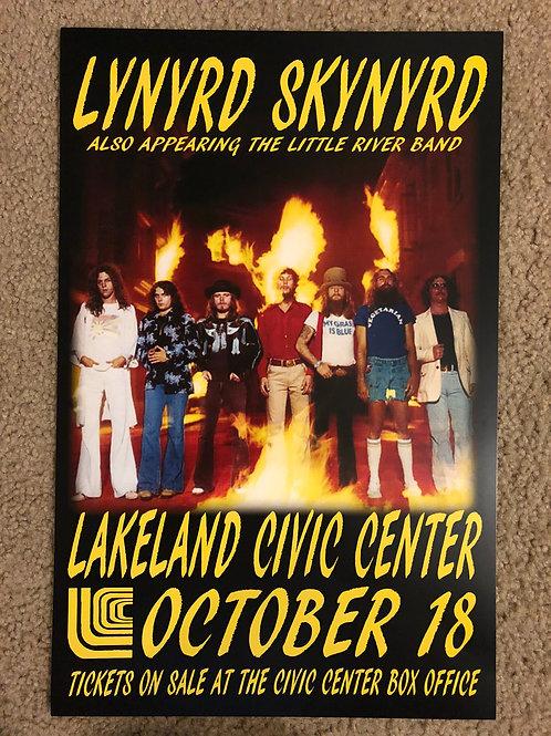 Lynyrd Skynyrd Lakeland (11x17)