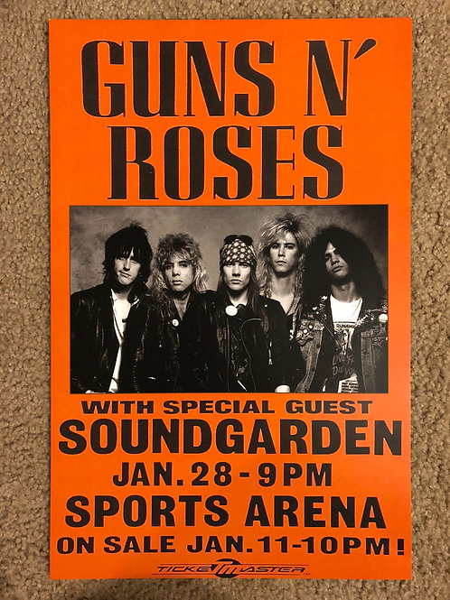 Guns and Roses with Soundgarden (11x17)