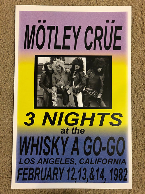 Motley Crue 3 Nights