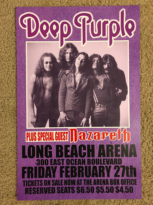 Deep Purple Nazareth (11x17)