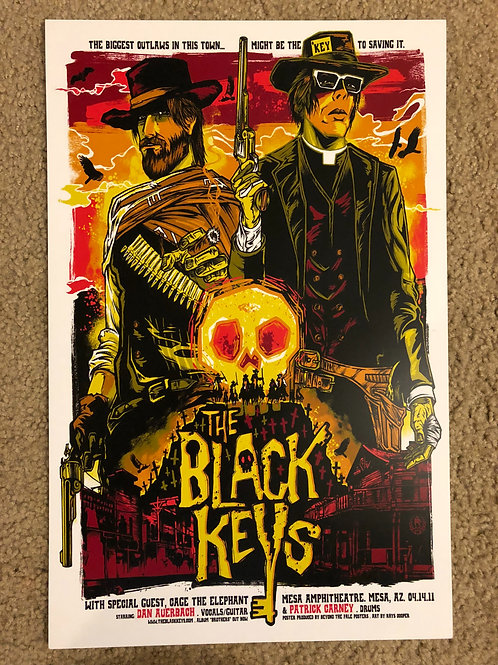 The Black keys Cowboy (11x17)