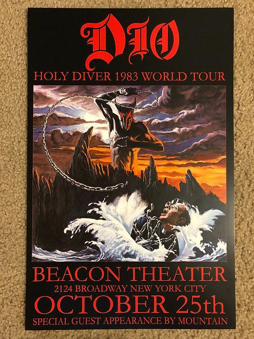 Dio Holy Diver Tour 1983 (11x17)