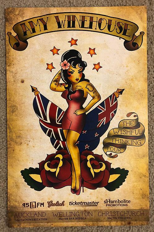 Amy Winehouse The Wishful Thinking (11x17)