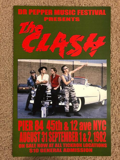 The Clash Pier 84 NYC (11x17)