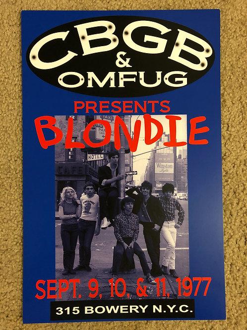 CBGB Blondie (11x17)