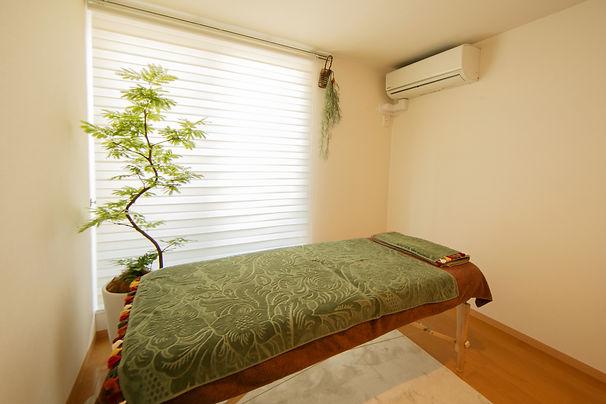 横浜市青葉区の完全個室ヘッドスパサロンねむの木