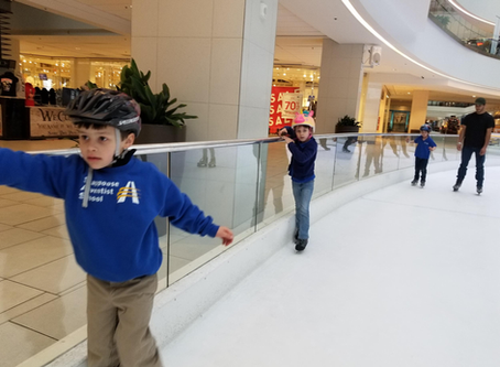 Ice Skating Adventures at SAS