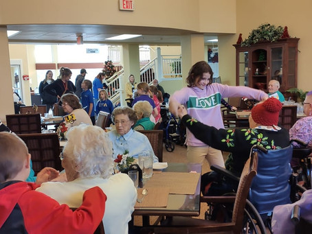 Holiday Traditions: Visiting our Community Seniors