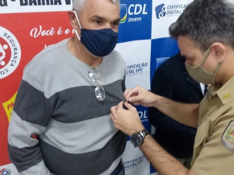 David Monteiro é o novo presidente do CONSEG de Barra Velha