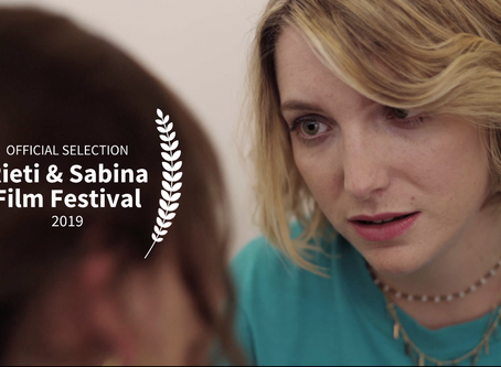 Official Selection at Rieti & Sabina Film Festival in Rome!