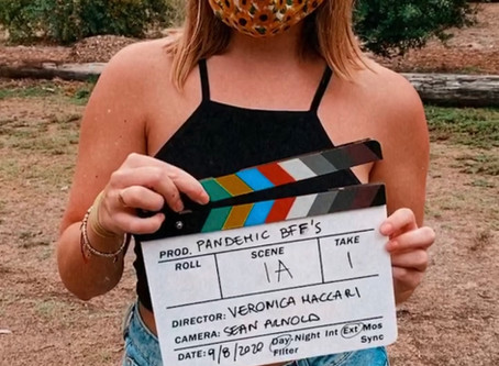 Veronica directs a Covid short film!