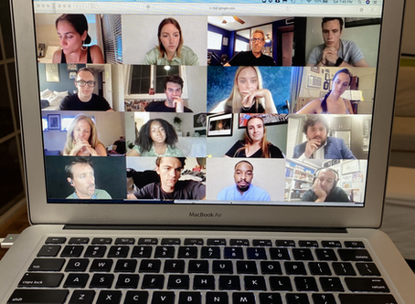 """Zoom Table Read of Veronica's New Web Series """"Imposter"""""""