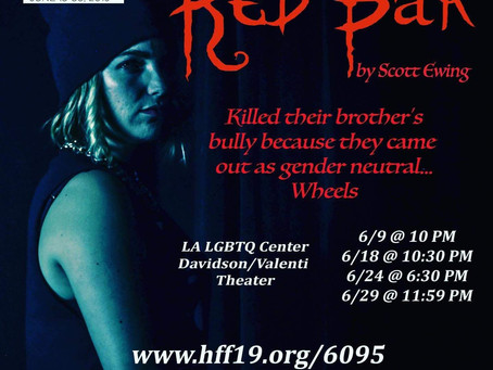 Veronica stars in Red Bar at the Hollywood Fringe Festival!