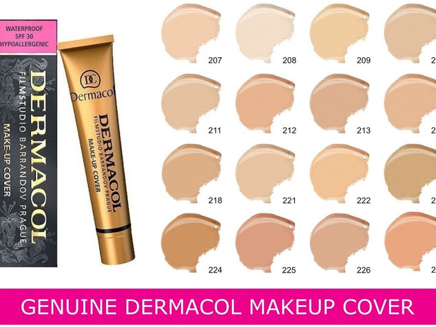 DERMACOL MAKEUP COVER FILM STUDIO