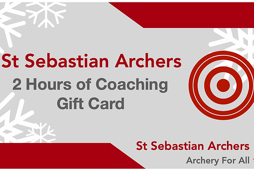 2 Hours of Coaching Gift Card