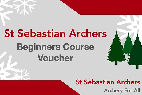 Beginners Course Gift Voucher