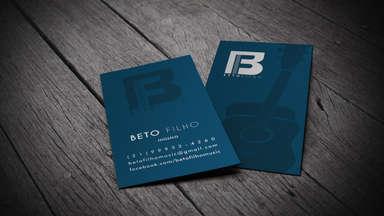 Cartão de Beto Filho