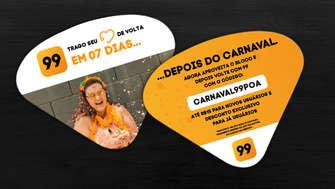 Arte para leque 99 Carnaval