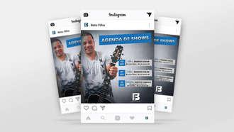Artes para Instagram/Facebook Beto Filho