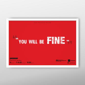 Portfolio Review Poster Design