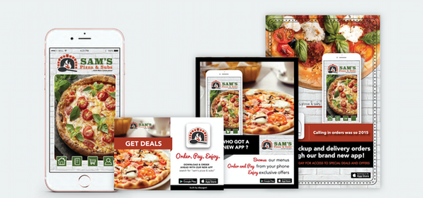 Sam's App and Marketing Package