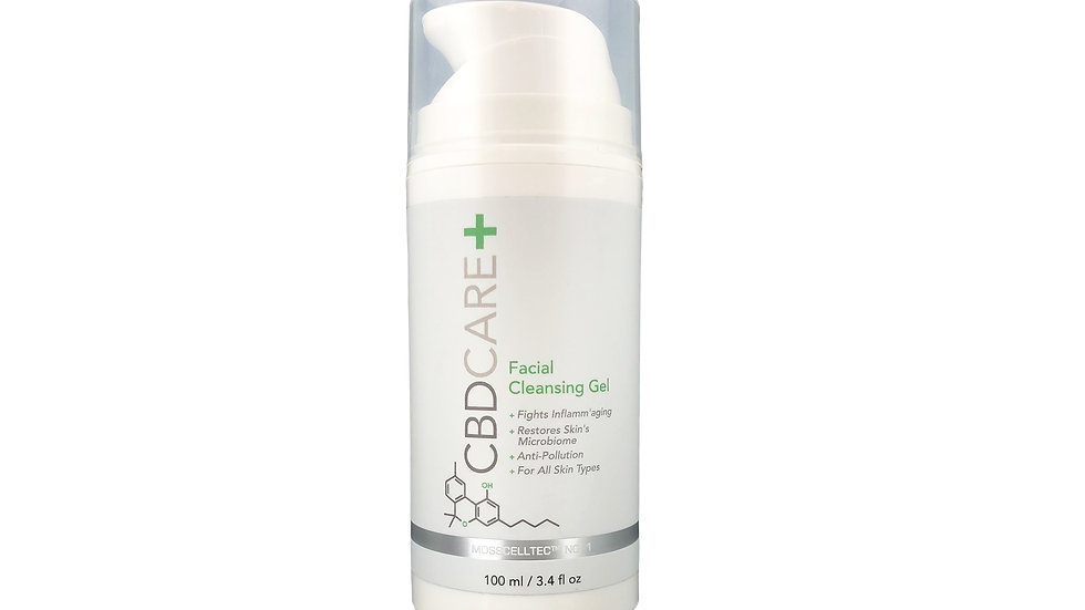 CBDCARE+ Facial Cleansing Gel 300 MG 3.4oz