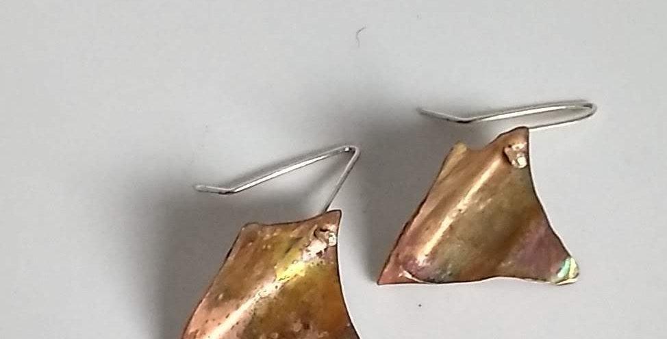 Petite Rhombus Earrings