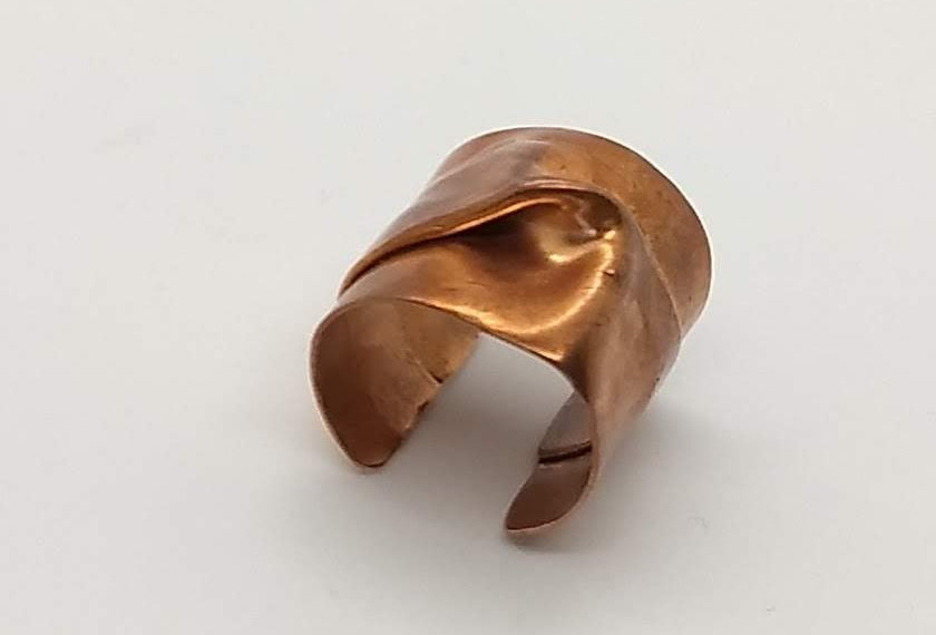 Copper Knot Ring