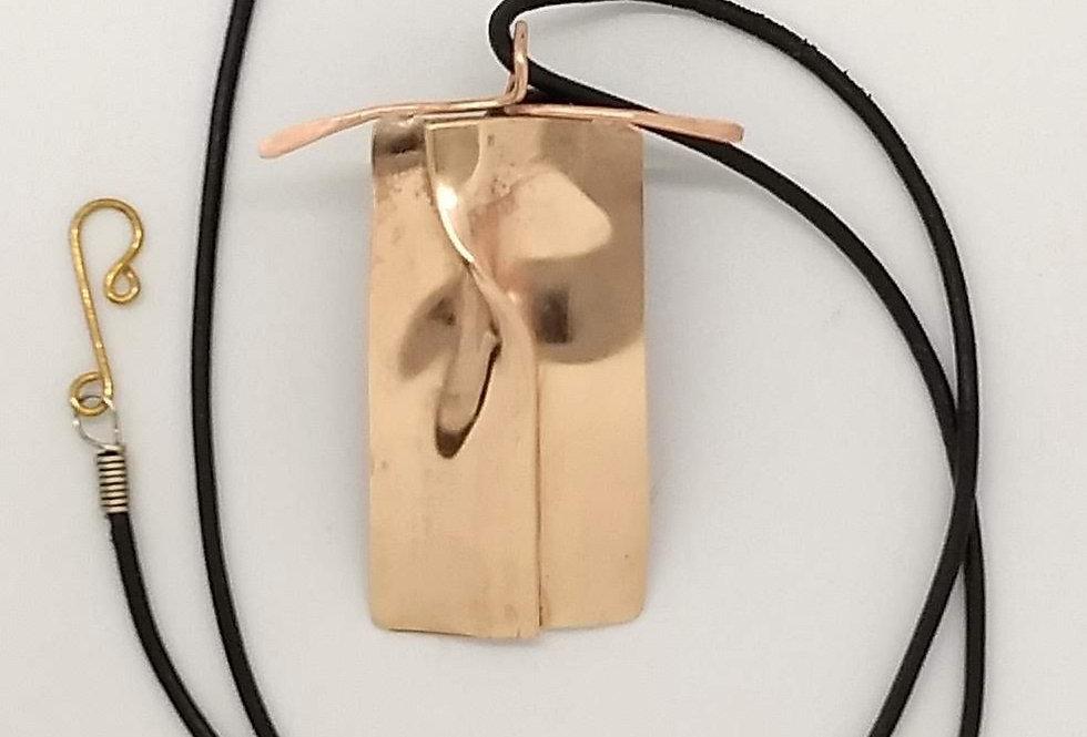Copper Knot Pendant